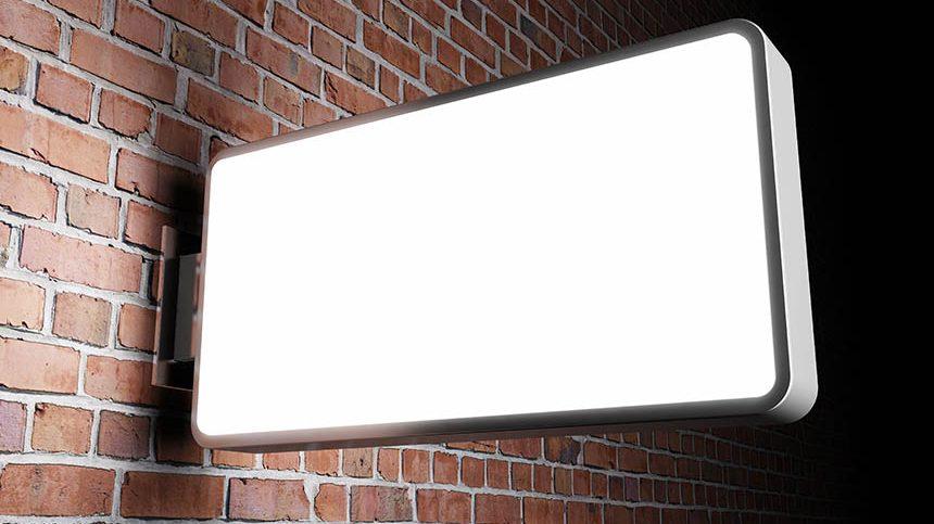 Glow Sign Board in Hyderabad